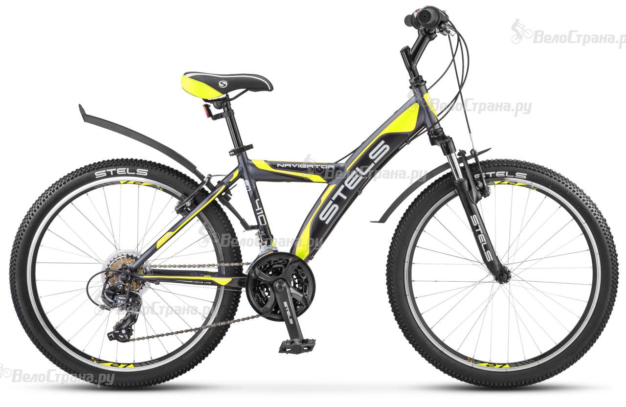 Велосипед Stels Navigator 410 V-18 sp V030 (2018) велосипед stels navigator 410 v 21 sp 2017