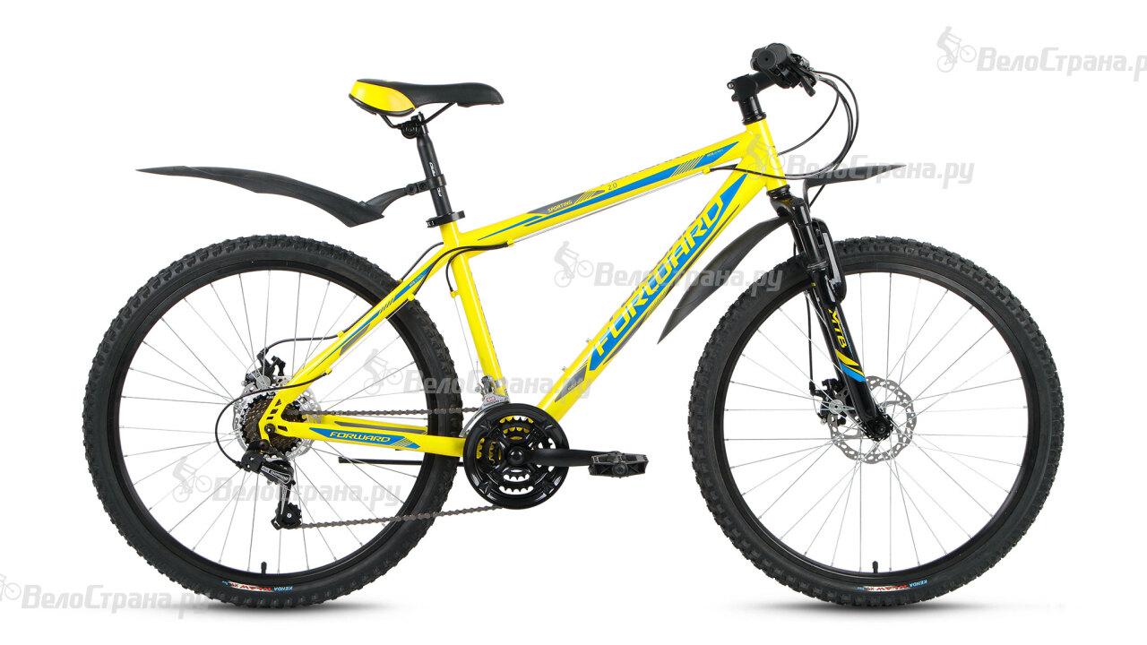 Велосипед Forward Sporting 2.0 disc (2018) велосипед forward sporting 2 0 29 disc 2018