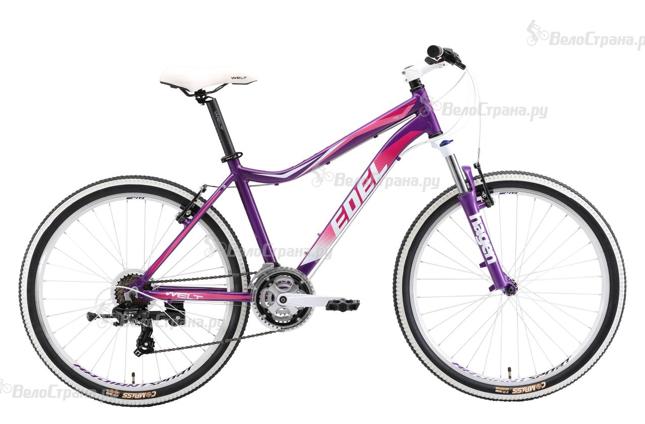 Велосипед Welt Edelweiss 1.0 (2018) edelweiss hertz xs красный