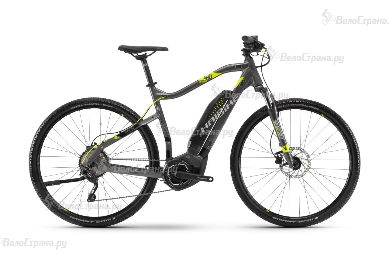 Велосипед Haibike SDURO Cross 4.0 men 400Wh (2018)