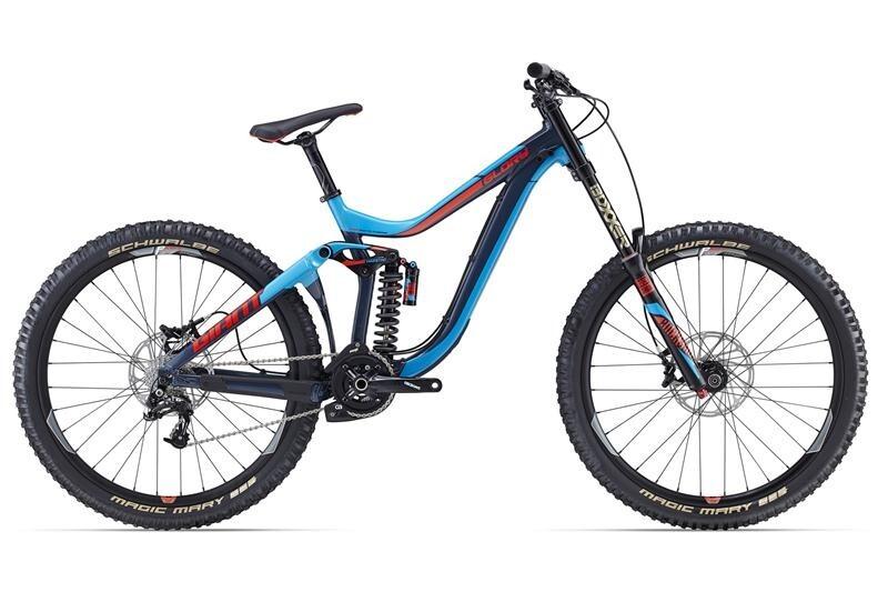 Купить Велосипед двухподвес Giant Glory 27.5 1 (2016)