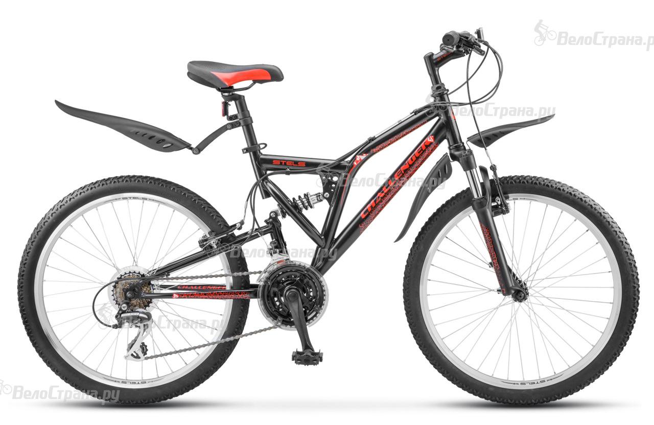 Велосипед Stels Challenger V 24 Z010 (2018) велосипед challenger enduro lux fs 26 d серо оранжевый 18