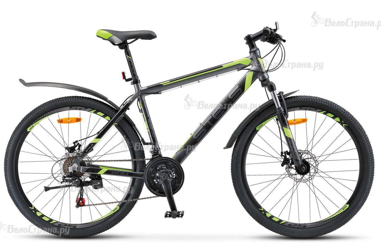 Велосипед Stels Navigator 600 MD V020 (2018) велосипед десна 2710 md 27 5 v020 2018 рама 17 5 антрацитовый