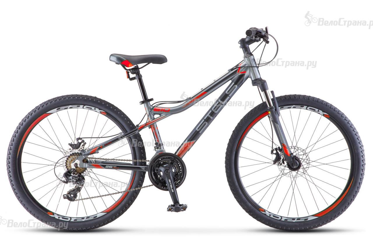 Велосипед Stels Navigator 610 MD V040 (2018) велосипед stels navigator 610 md 27 5 v030 2017