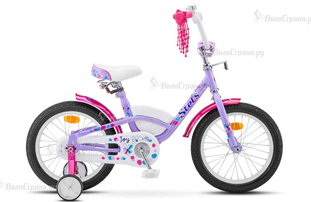 Велосипед Stels Joy 16 V020 (2018) ящик для инструмента с металлическими замками 16 175х210х410мм stels россия 90711