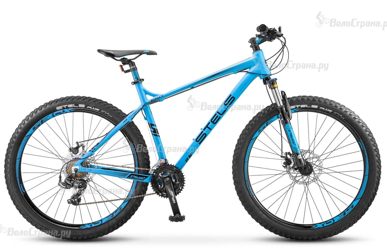 Велосипед Stels Navigator 660 MD 27.5+ V020 (2018) велосипед десна 2710 md 27 5 v020 2018 рама 17 5 антрацитовый