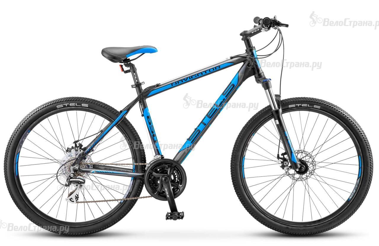 Велосипед Stels Navigator 650 MD 27.5 V030 (2018) велосипед stels navigator 730 md 2016