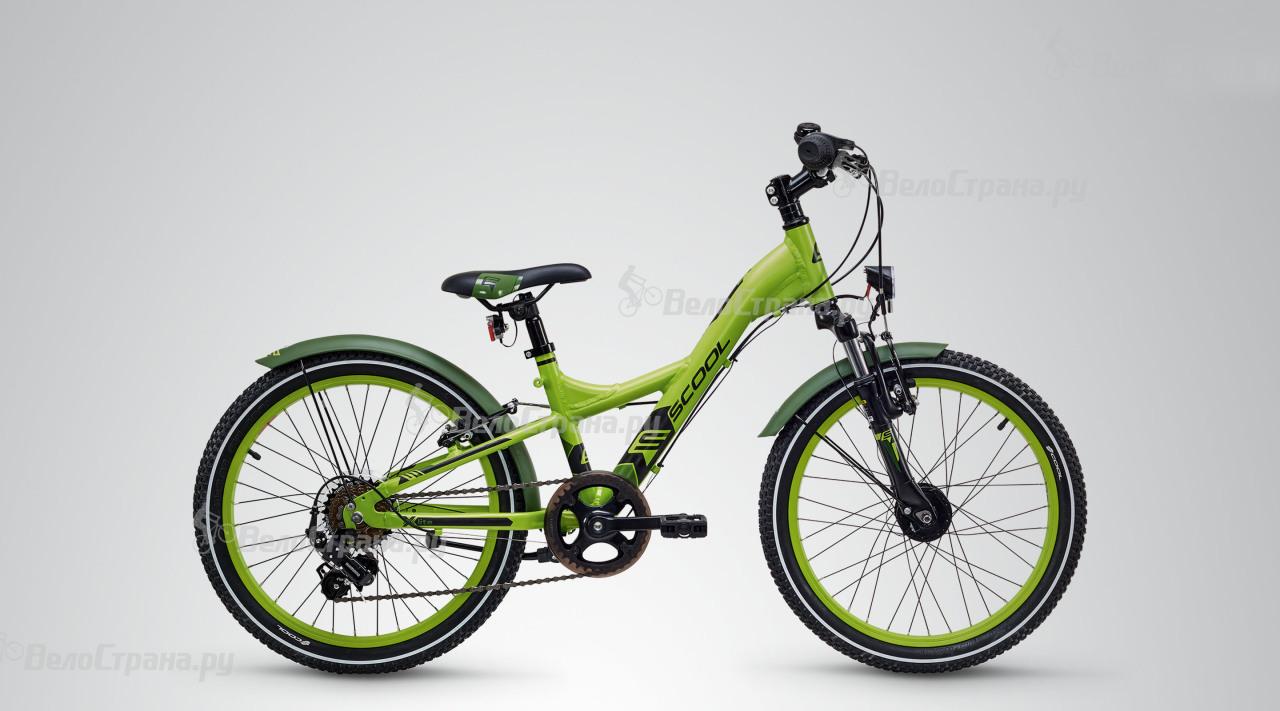 Велосипед Scool XXLITE ALLOY 20 7-S (2018) scool xxlite 12 alloy 2017