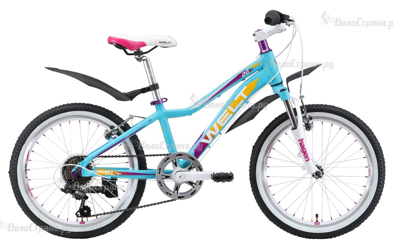 Велосипед Welt Edelweiss 20 (2018) edelweiss hertz xs красный