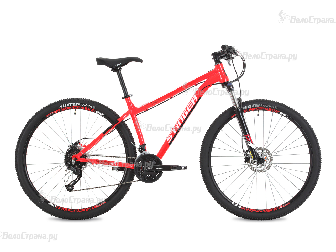 Велосипед Stinger Zeta Std 29 (2018) вилка apex forks zero std purple
