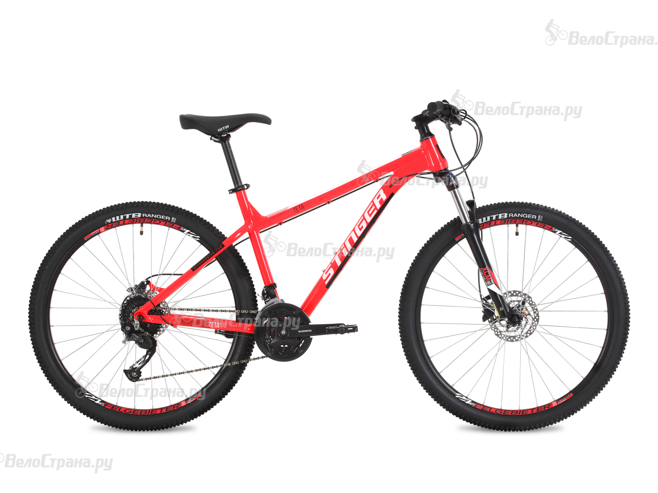 Велосипед Stinger Zeta Std 27,5 (2018) вилка apex forks zero std purple