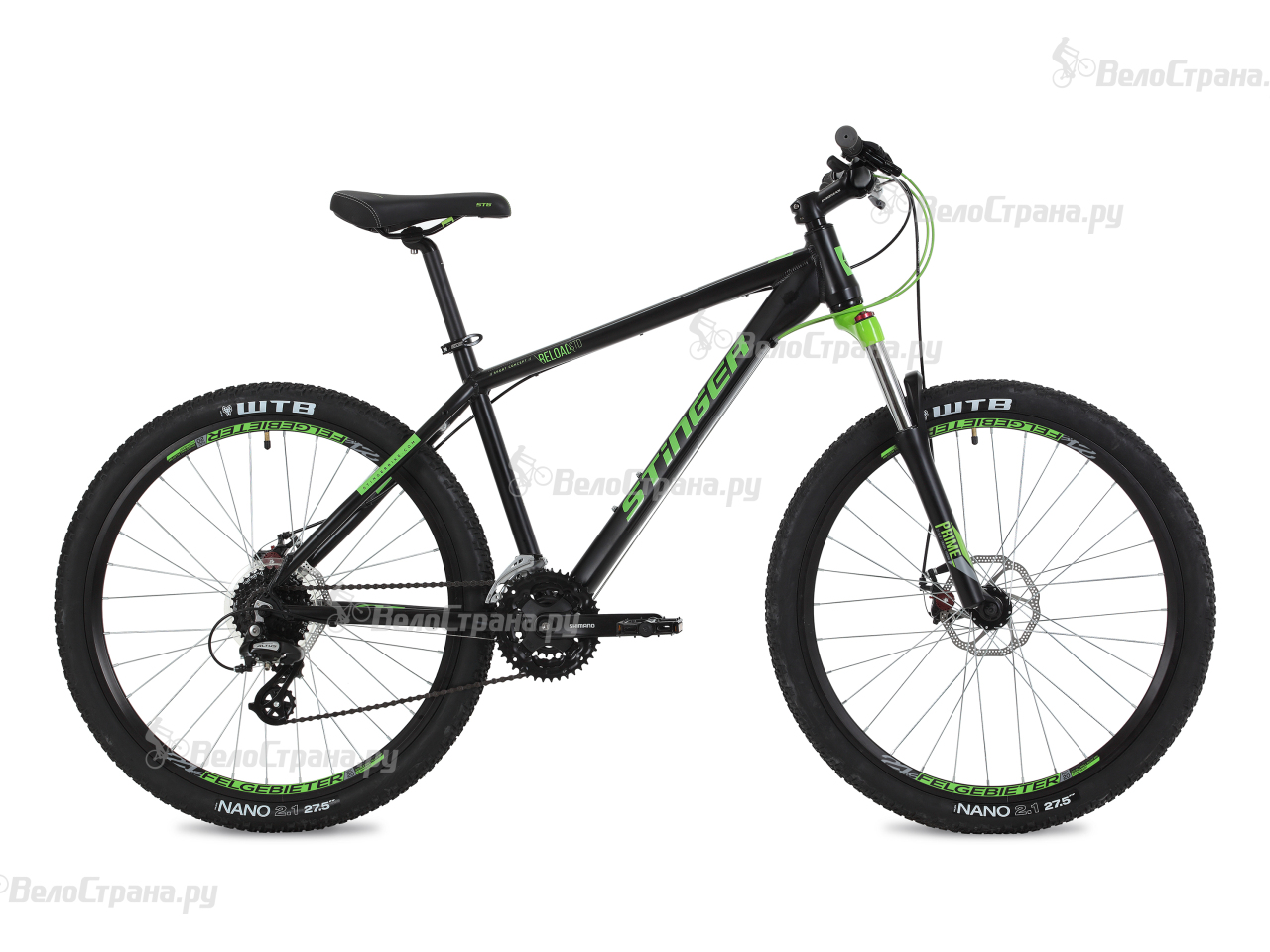 Велосипед Stinger Reload Std 27,5 (2018) вилка apex forks zero std purple