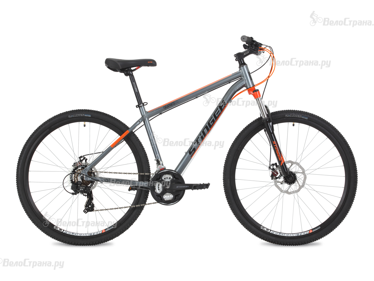 Велосипед Stinger Graphite Std 29 (2018) вилка apex forks zero std purple