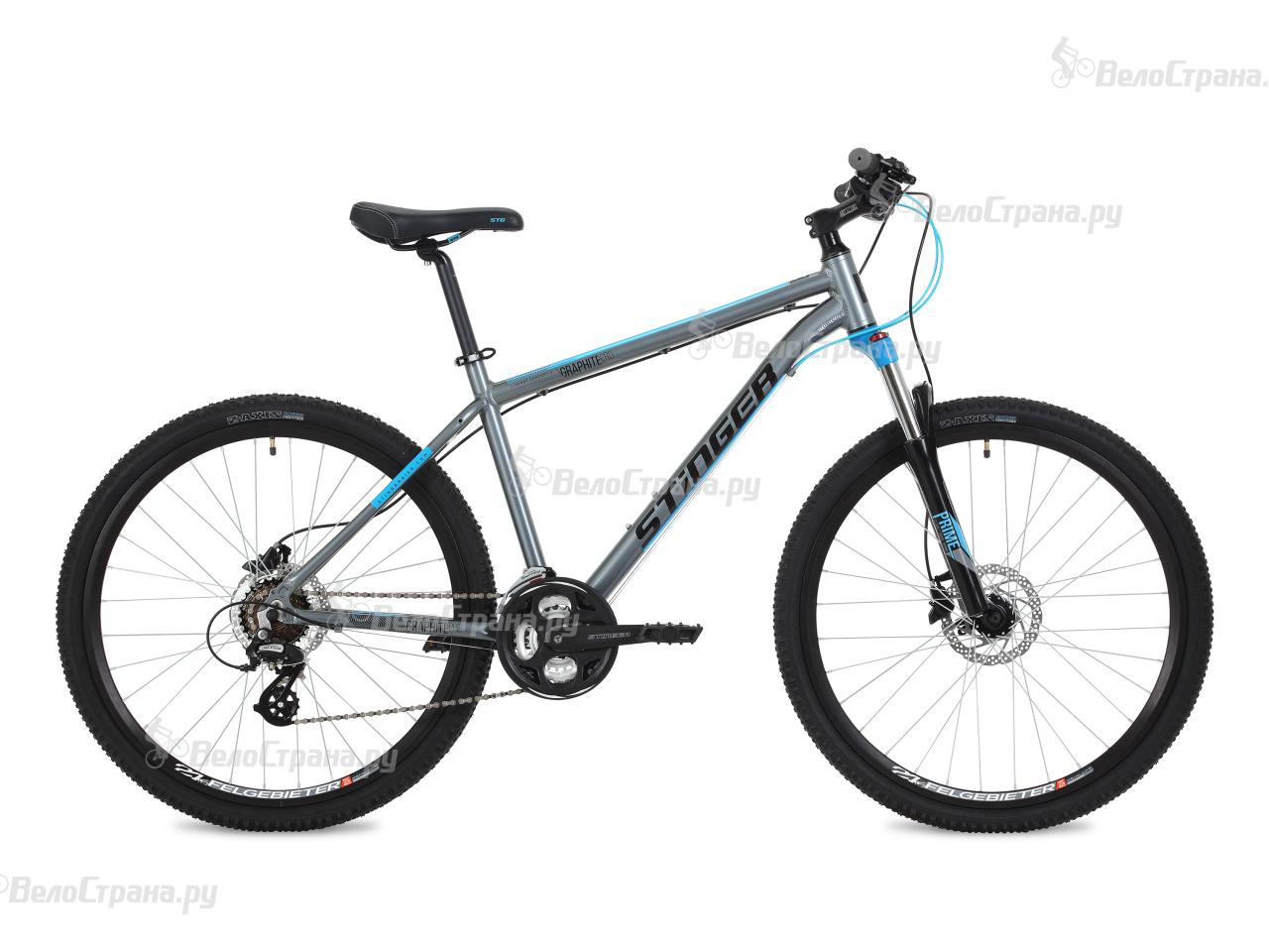 Велосипед Stinger Graphite Pro 27,5 (2018) кий пирамида 2 pc rus pro 2008 rp8 5 черный cuetec 26 109 62 5