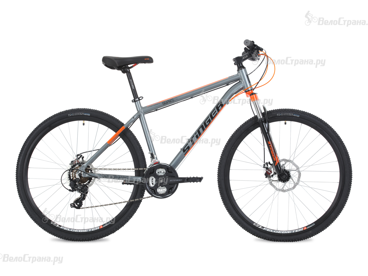 Велосипед Stinger Graphite Std 27,5 (2018) вилка apex forks zero std purple