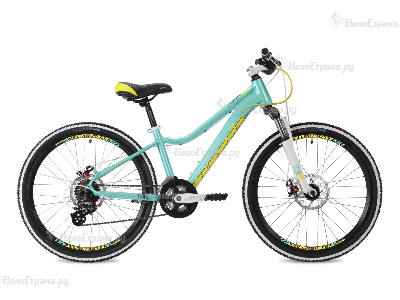Велосипед Stinger Fiona Std 24 (2018) вилка apex forks zero std purple