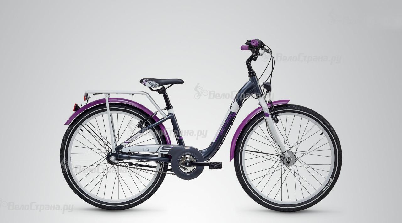 Велосипед Scool CHIX ALLOY 24 3-S (2018) alloy