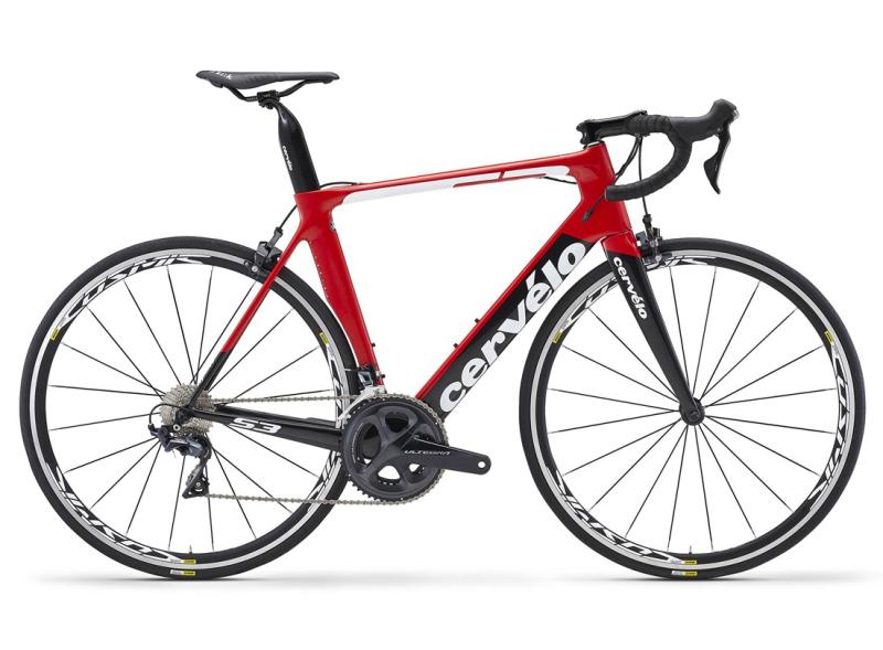 Купить Шоссейный велосипед Cervelo S3 Ultegra (2018)