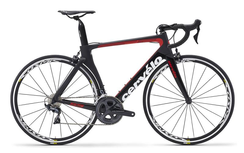 Купить Шоссейный велосипед Cervelo S5 Ultegra (2018)