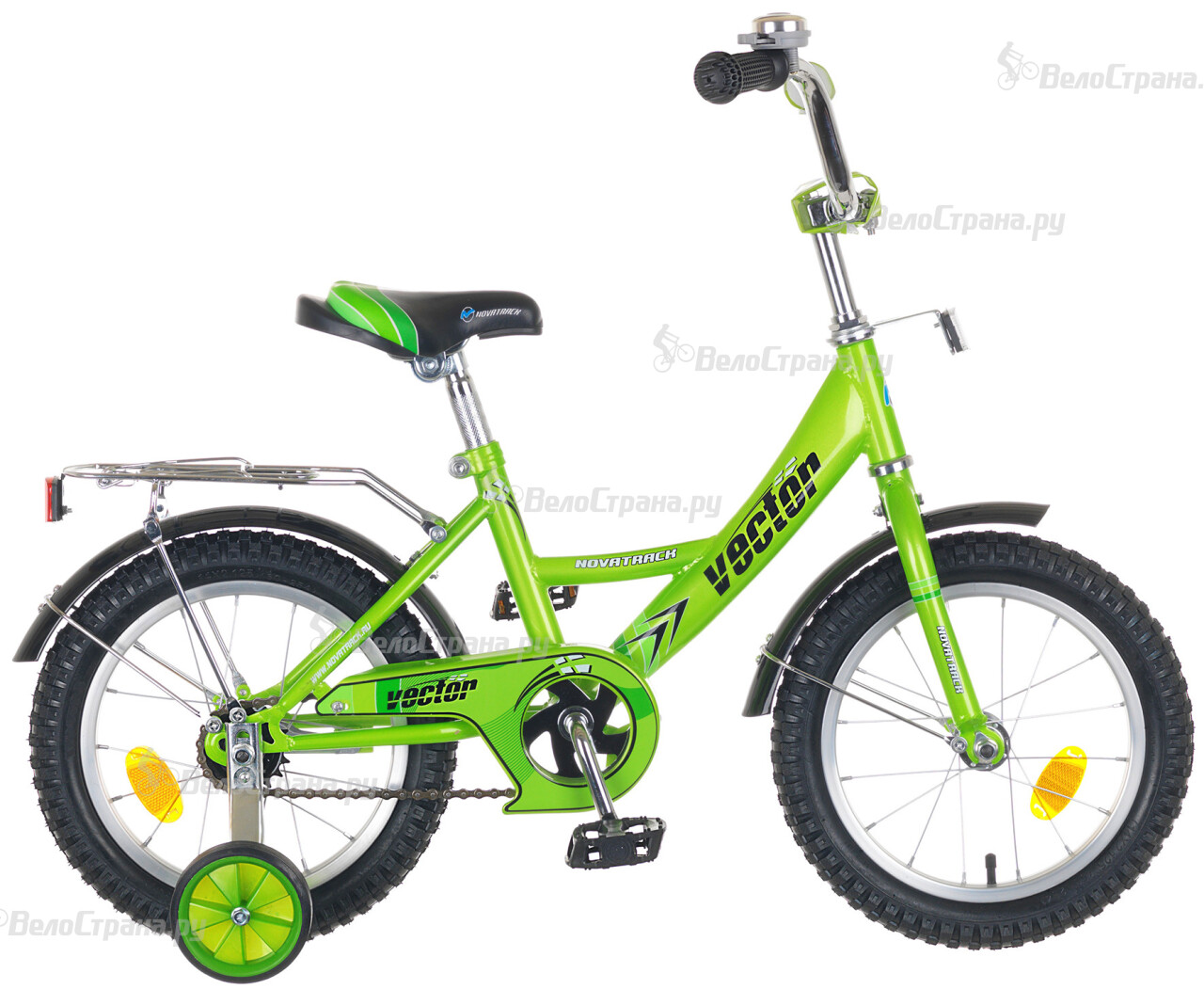 Велосипед Novatrack Vector 16 (2018) novatrack novatrack велосипед vector 16 зеленый