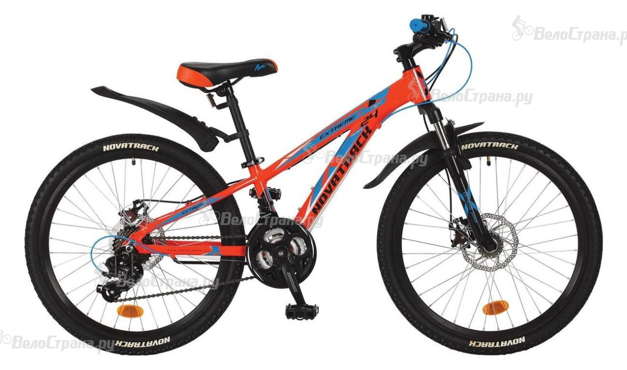 Велосипед Novatrack Extreme Disc 24 (2018) велосипед novatrack extreme x44120 к green