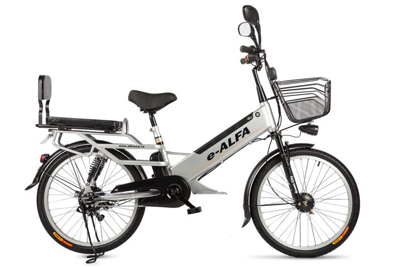 Купить Электровелосипед Eltreco e-ALFA L (2018)