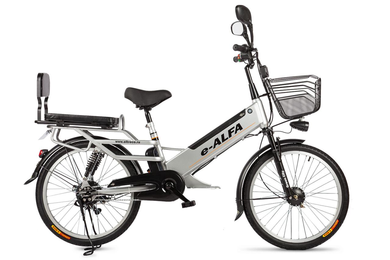 Велосипед Eltreco e-ALFA L (2018)