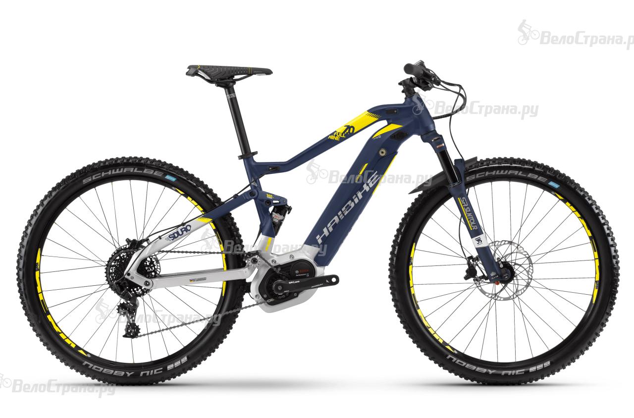 Велосипед Haibike SDURO FullNine 7.0 500Wh (2018) велосипед haibike sduro trekking 4 0 women 2017