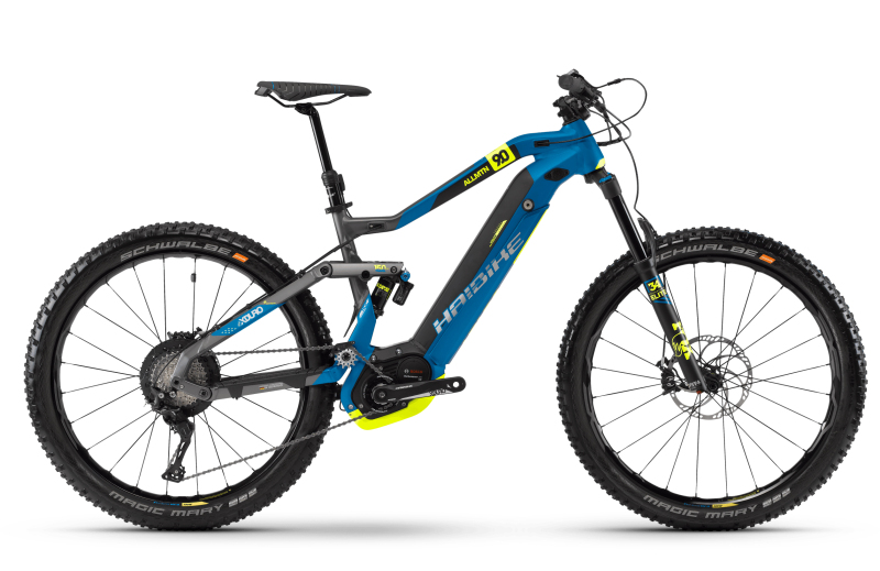 Купить Электровелосипед Haibike XDURO AllMtn 9.0 500Wh (2018)