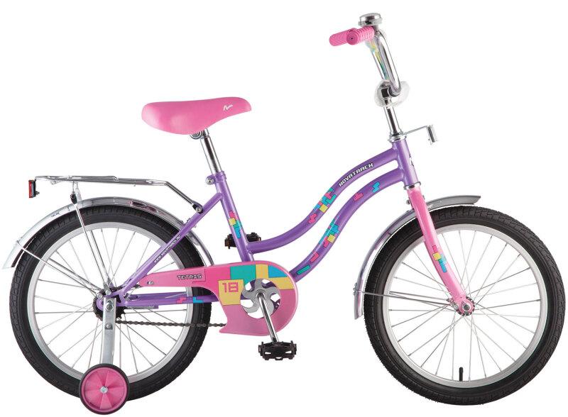 Купить Детский велосипед Novatrack Tetris 18 (2018)