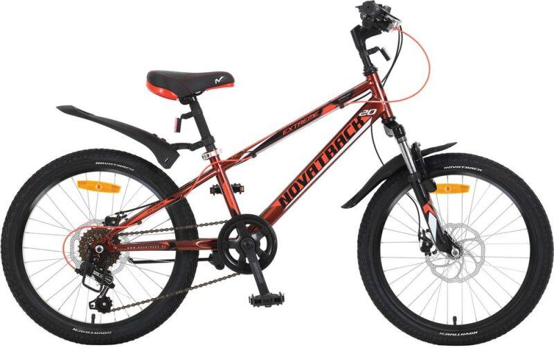Купить Детский велосипед Novatrack Extreme Disc 20 (2018)