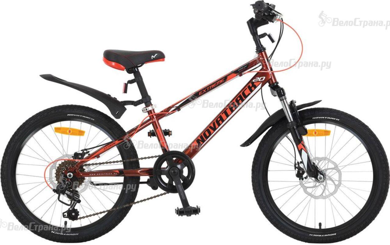 Велосипед Novatrack Extreme Disc 20 (2018) ravensburger ravensburger раскрашивание по номерам тигренок