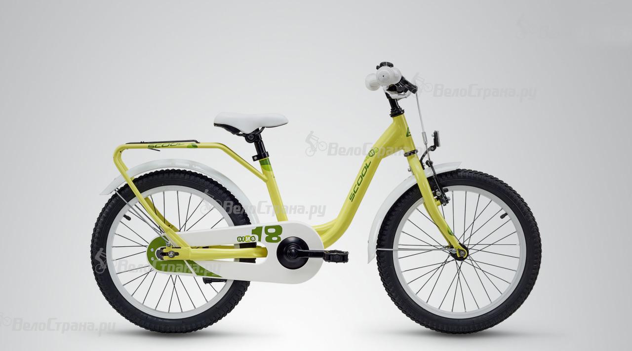 Велосипед Scool niXe 18 steel (2018) велосипед scool nixe 12 steel 2016