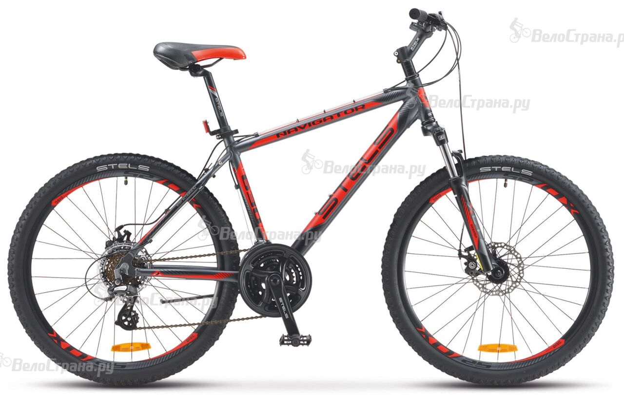 Велосипед Stels Navigator 630 MD 26 V010 (2018) велосипед stels miss 5100 md v031 2018
