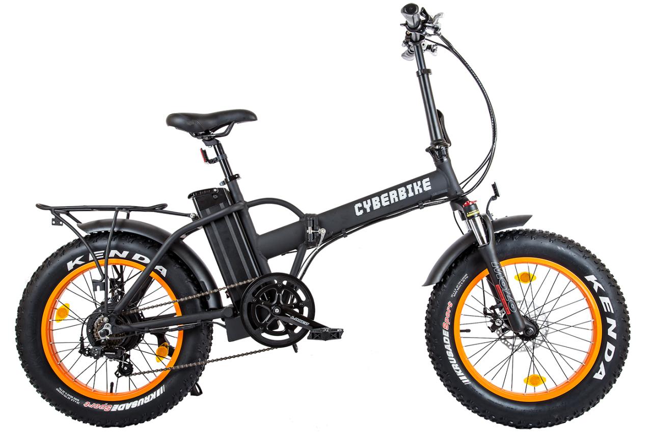 Велосипед Eltreco Cyberbike FAT 500W (2018)