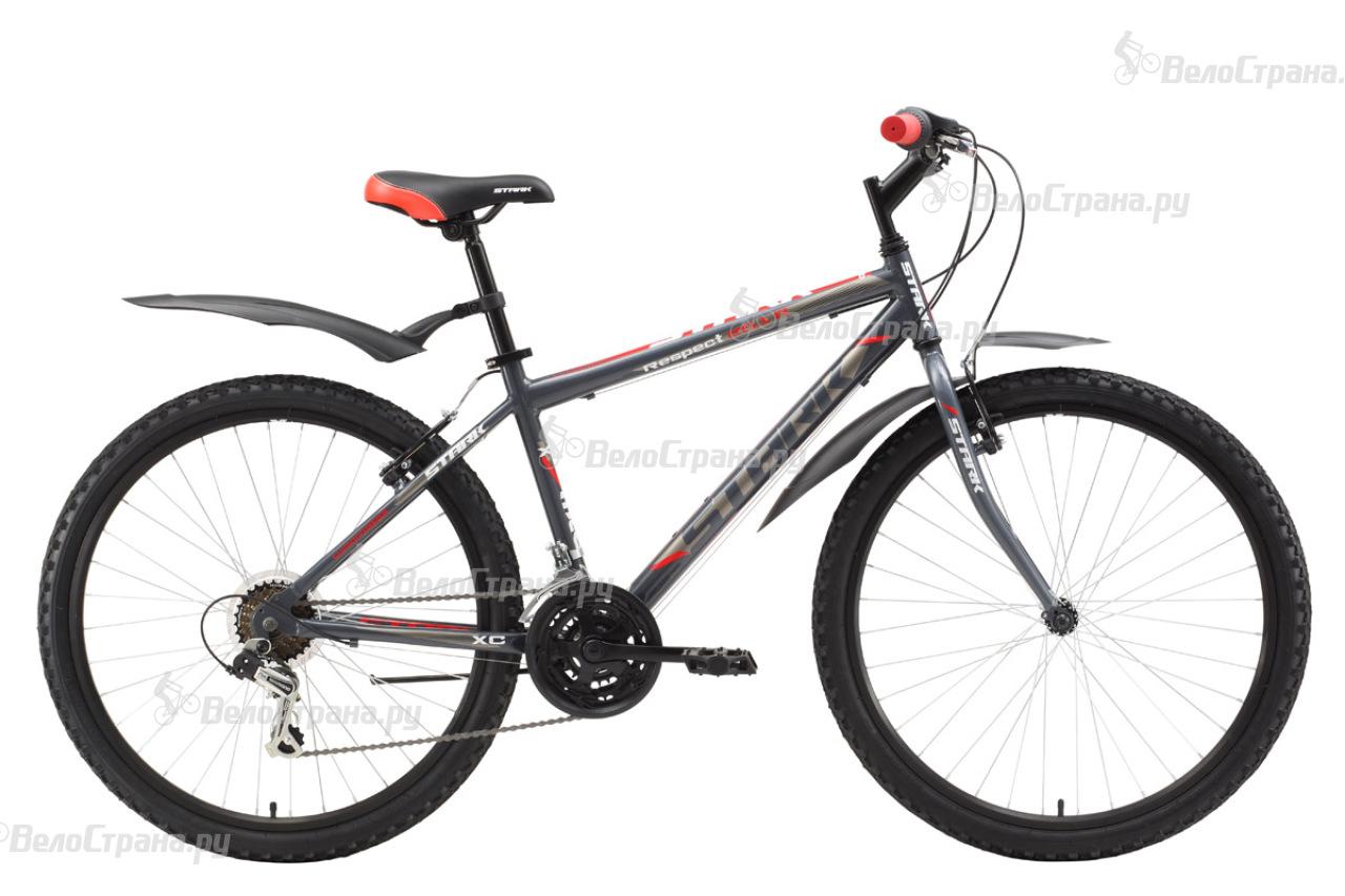 цена Велосипед Stark Respect 26.1 RV (2017) онлайн в 2017 году