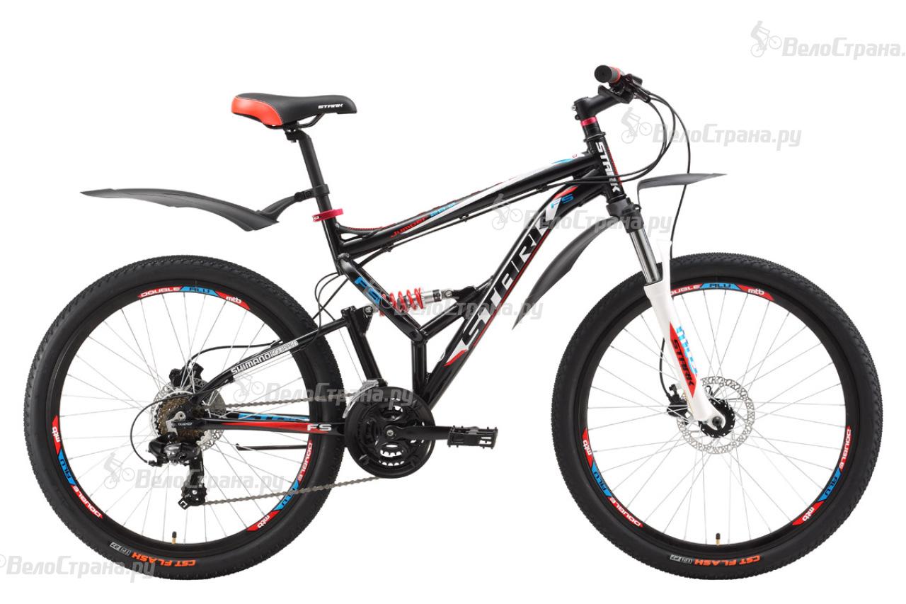 Велосипед Stark Jumper 26.2 FS HD (2017) велосипед challenger mission lux fs 26 черно красный 16