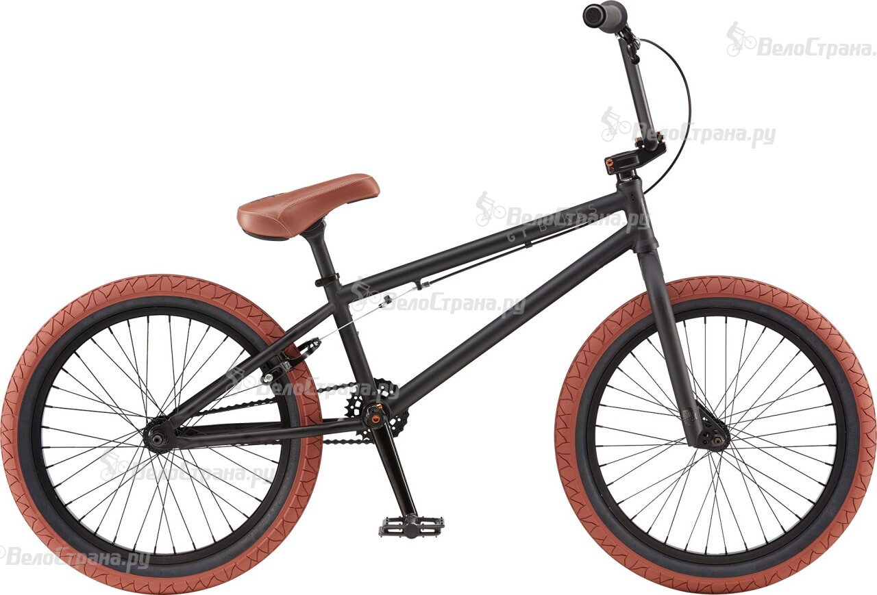 Велосипед GT BK (2016) велосипед gt ruckus dj 2016