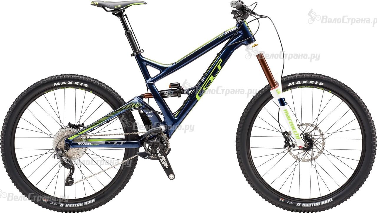Велосипед GT Sanction Expert (2016) велосипед gt verb expert 2016