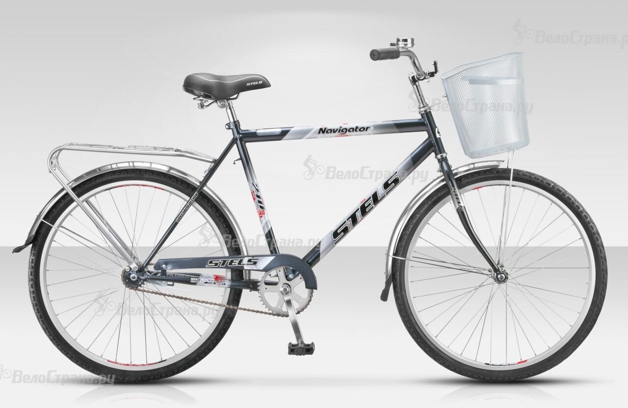 Велосипед Stels Navigator 210 (2015) велосипед с корзиной stels navigator 380 gent 20 2015 black green