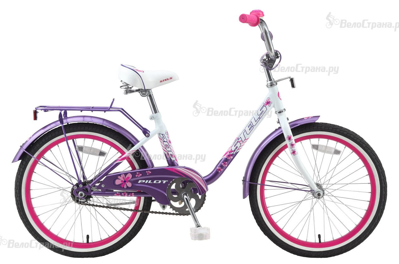 Велосипед Stels Pilot 200 Girl (2015) велосипед stels pilot 240 girl 3sp 2015