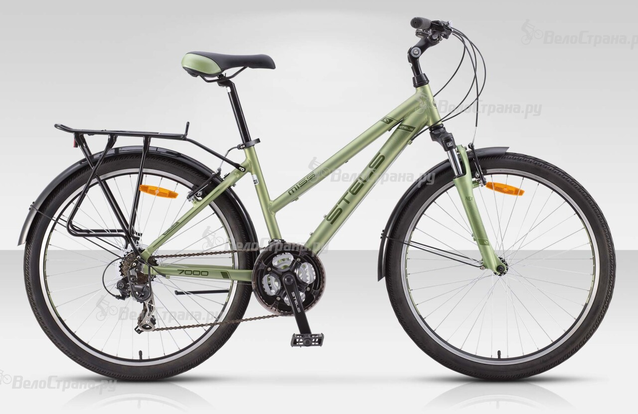 Велосипед Stels Miss 7000 (2015) велосипед stels miss 6100 2013