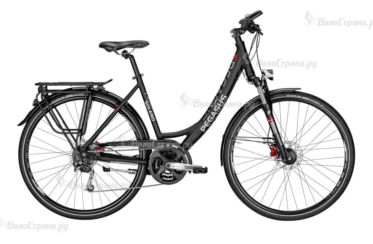 Велосипед Pegasus Solero SL Disc Wave (2016) велосипед pegasus comfort sl 7 sp 28 2016