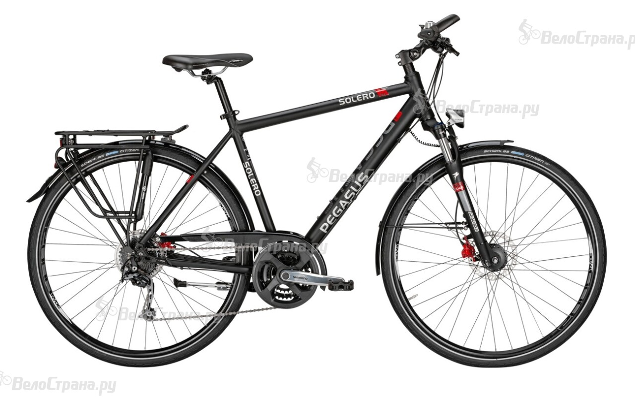 Велосипед Pegasus Solero SL Disc Gent (2016) велосипед pegasus comfort sl 7 sp 28 2016