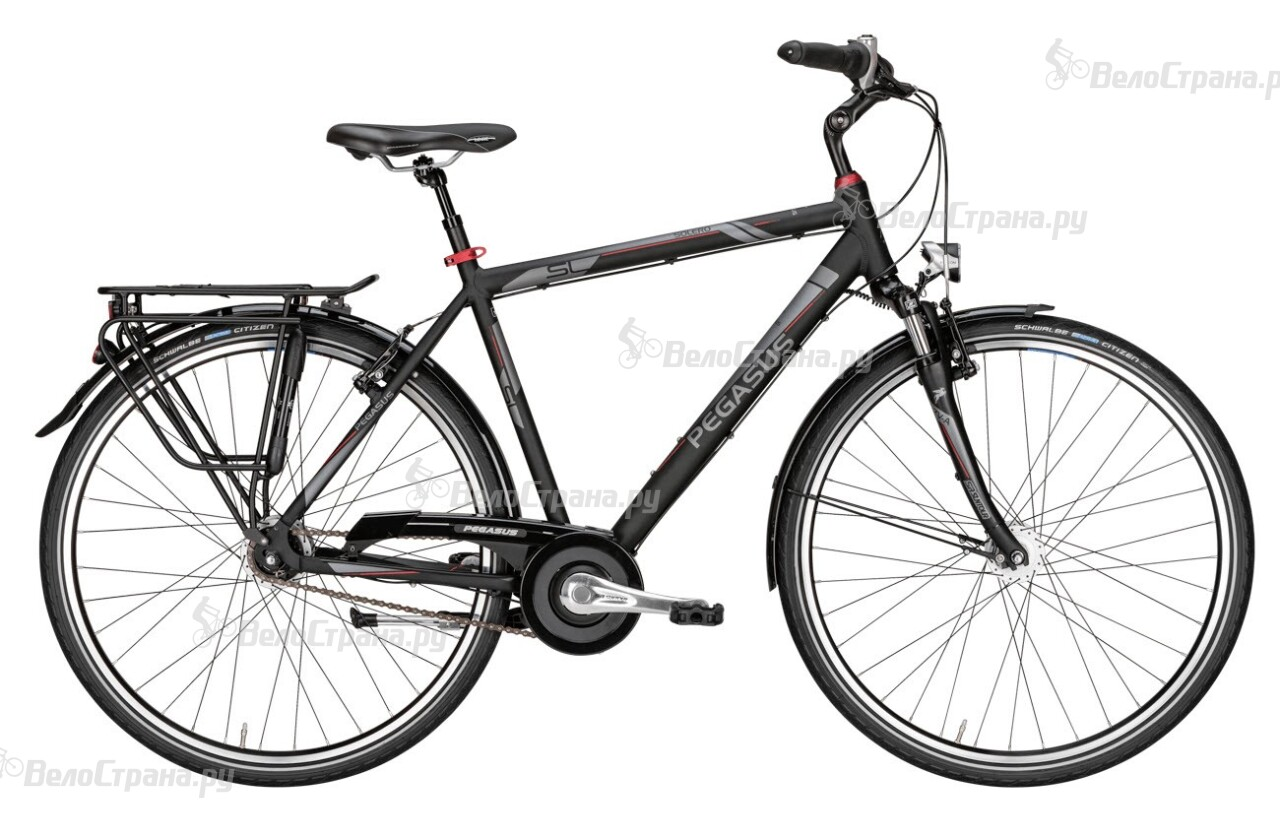 Велосипед Pegasus Solero SL Gent 8 (2016) велосипед pegasus piazza gent 7 2017