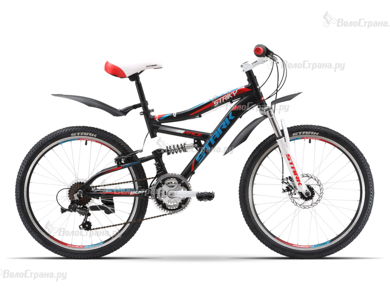 Велосипед Stark Striky FS Disc (2016) велосипед stark jumper 26 2 fs d 2017