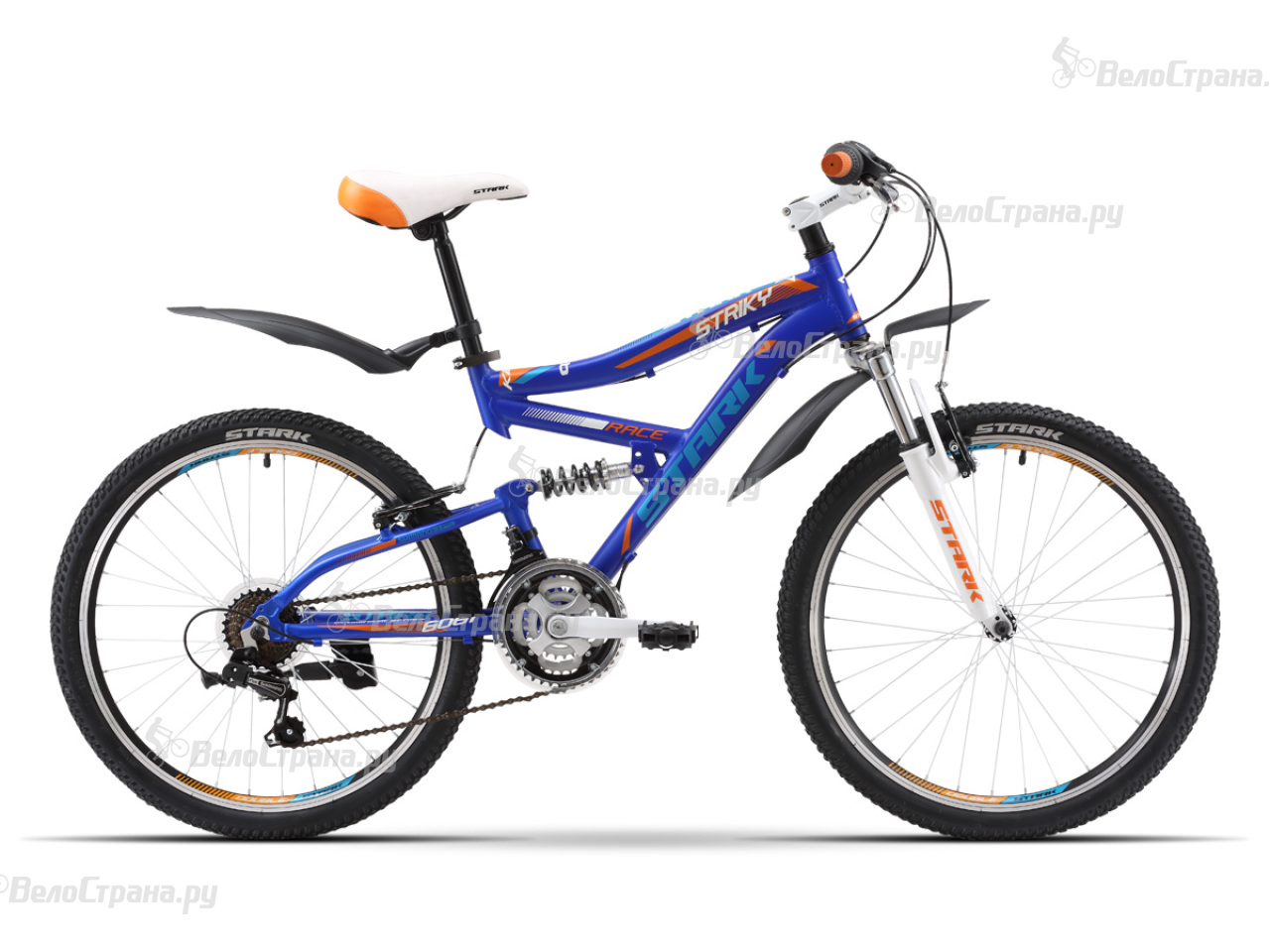 Велосипед Stark Striky FS (2016) велосипед challenger mission lux fs 26 черно красный 16
