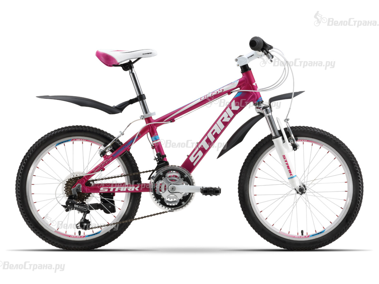 Велосипед Stark Bliss Girl 20 (2016) велосипед stark gravity 20 2016