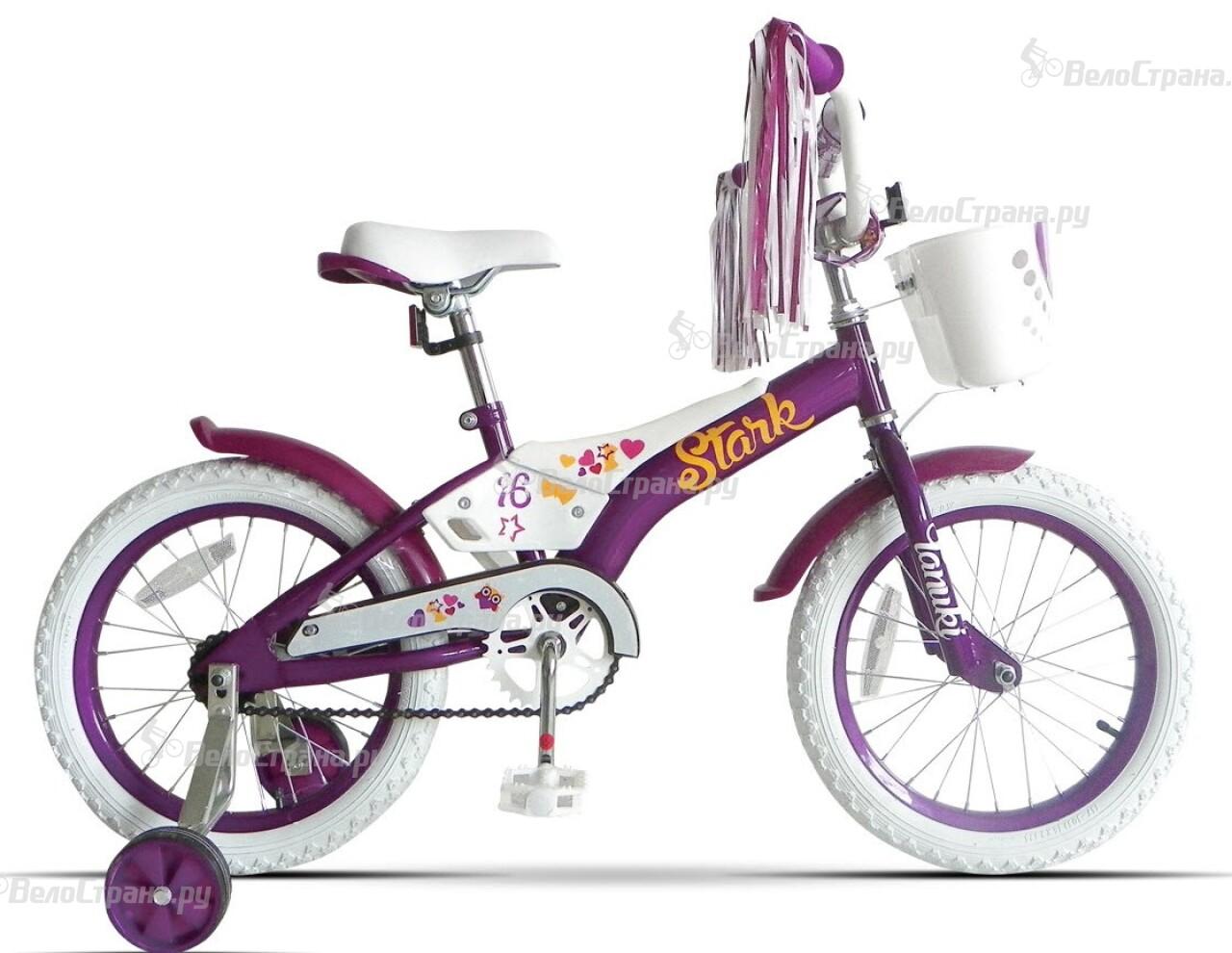Велосипед Stark Tanuki Girl 16 (2016) stark outpost 16 2016 blue orange