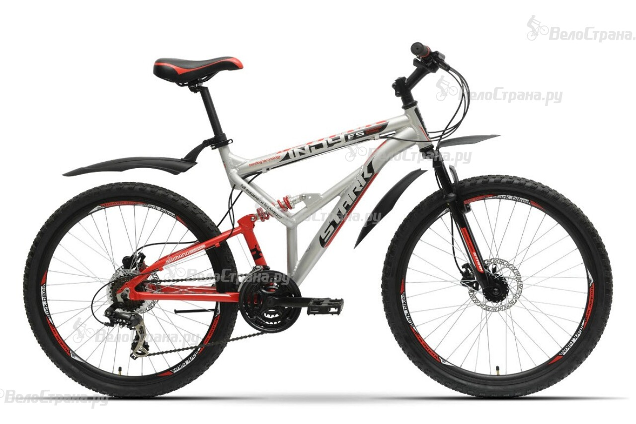 Велосипед Stark Indy FS HD (2016) велосипед challenger mission lux fs 26 черно красный 16